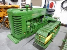 JOHN DEERE MC 1950 - VINTAGE RESTORED CRAWLER, RUNNING CONDITION, S/N 13153, DOZER & ANY EXTRA PARTS