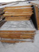 "(14) - METL-SPAN 3""THICK X 40"" WIDE INSULATED METAL PANELS R20 OFF OF BUILDING, SLIGHT HAIL"