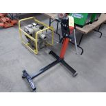 4 WHEEL RED/BLACK 1000LB HEAVY DUTY ENGINE STAND
