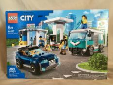 LEGO CITY: 60257 SERVICE STATION (354 pieces) Donated by: Paul & Shawna Payson Value: $ 70.00