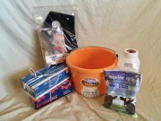 FARM CALVING BUNDLE Bundle includes: 2 Qt nursing bottle with screw on nipple, 400g bovine 1gG Immu-