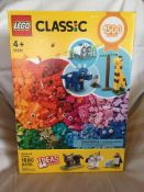 1,500 PIECES OF CLASSIC LEGO Donated by: Laura Grinde Value: $75.00