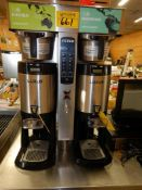 FETCO CBS 2025e EXTRACTOR SERIES DBL COFFEE BREWER 1 OR 3 PH S/N 480245113690W/2-FETCO LUXUS LDS-