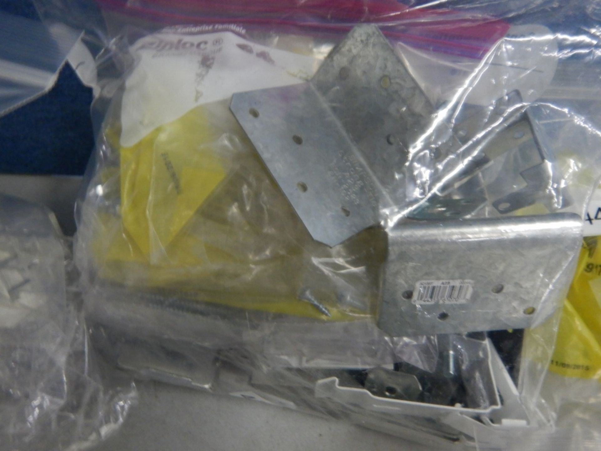 L/O ASSORTED MOUNTING HARDWARD FOR WINDOW COVERINGS - Image 6 of 6