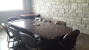 """CHERRYWOOD BOARDROOM TABLE - 101""""L X 41""""W (LOCATED IN HIGH RIVER)"""