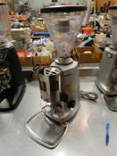 MAZZER SUPER JOLLY TIMER ELECTRONIC EXPRESSO GRINDER S/N 1204984(NOT WORKING – NEEDS REPAIR)