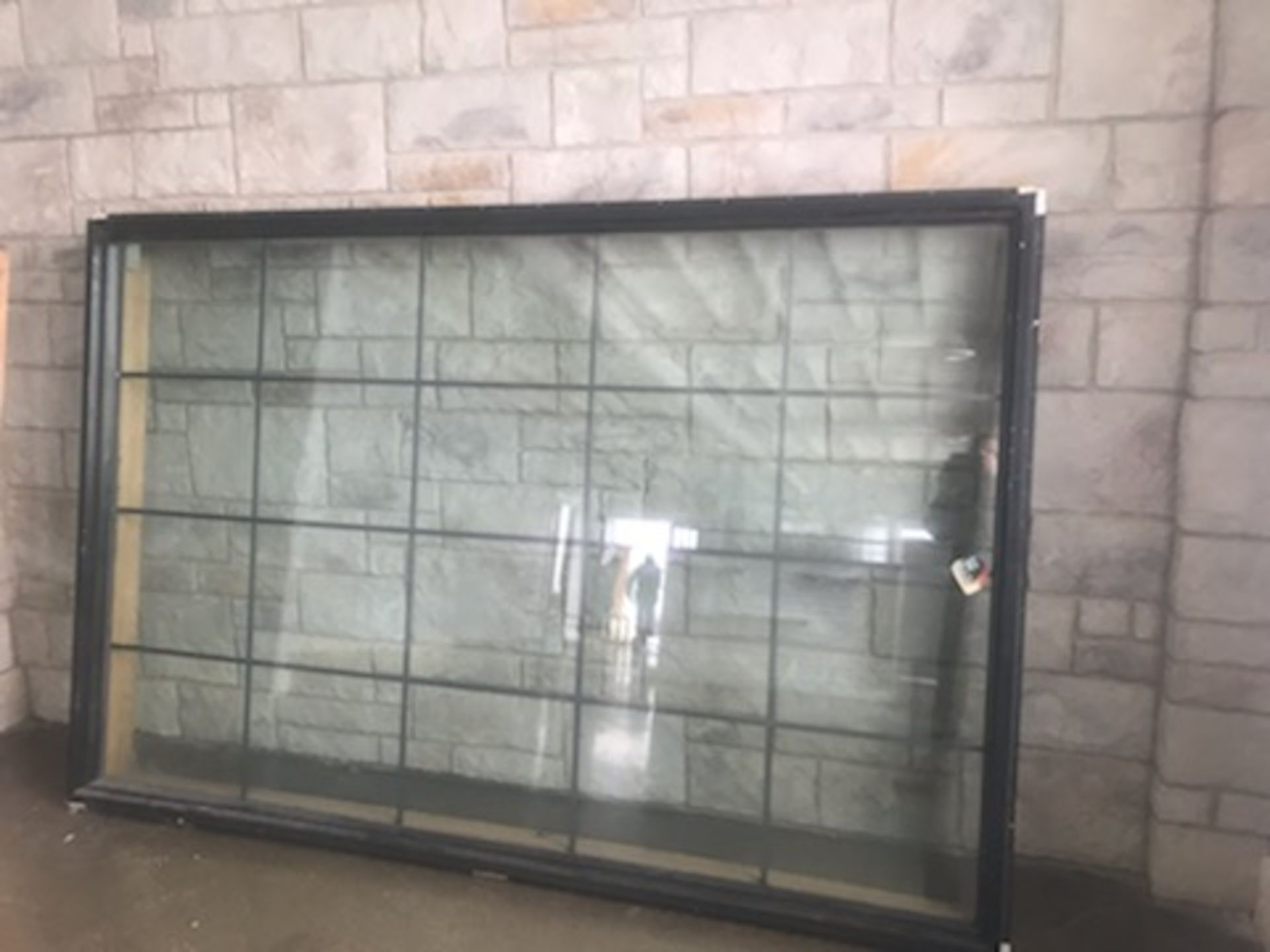 """COMMERCIAL WINDOW - DOUBLE PANED, 97""""X64"""""""