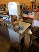 "PANASONIC SMB 30 10"" MEAT CUTTING BAND SAW – 110V ¾ HP, 18""X24"" TABLE"