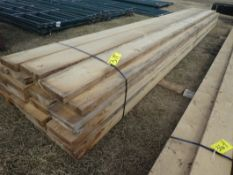 40-2IN X 8IN X 16FT ROUGH SAWN LUMBER