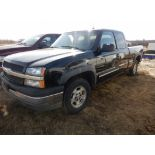 2003 CHEVROLET SILVERADO EXTENDED CAB 2X4 SHORTBOX PICKUP, AT, 5.3 L VORTEC ENG