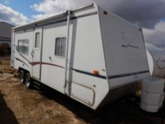 2006 CAMPSITE BY KEYSTONE 23FT HOLIDAY TRAILER W/AWNING, S/N 1K52KBK2662000085