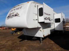 2006 DUTCHMEN DENALI 31RGBS/M5 5W HOLIDAY RV TRAILER S/N 47CFD1S226P616039 W/3-SLIDE-OUTS, AWNING,