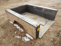 PLYWOOD TRUCK BOX LINER W/ BUILT IN TOOLBOXES R/I FOR POWER