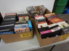 L/O ASSORTED DVD, VHS, CAMERA, ETC.
