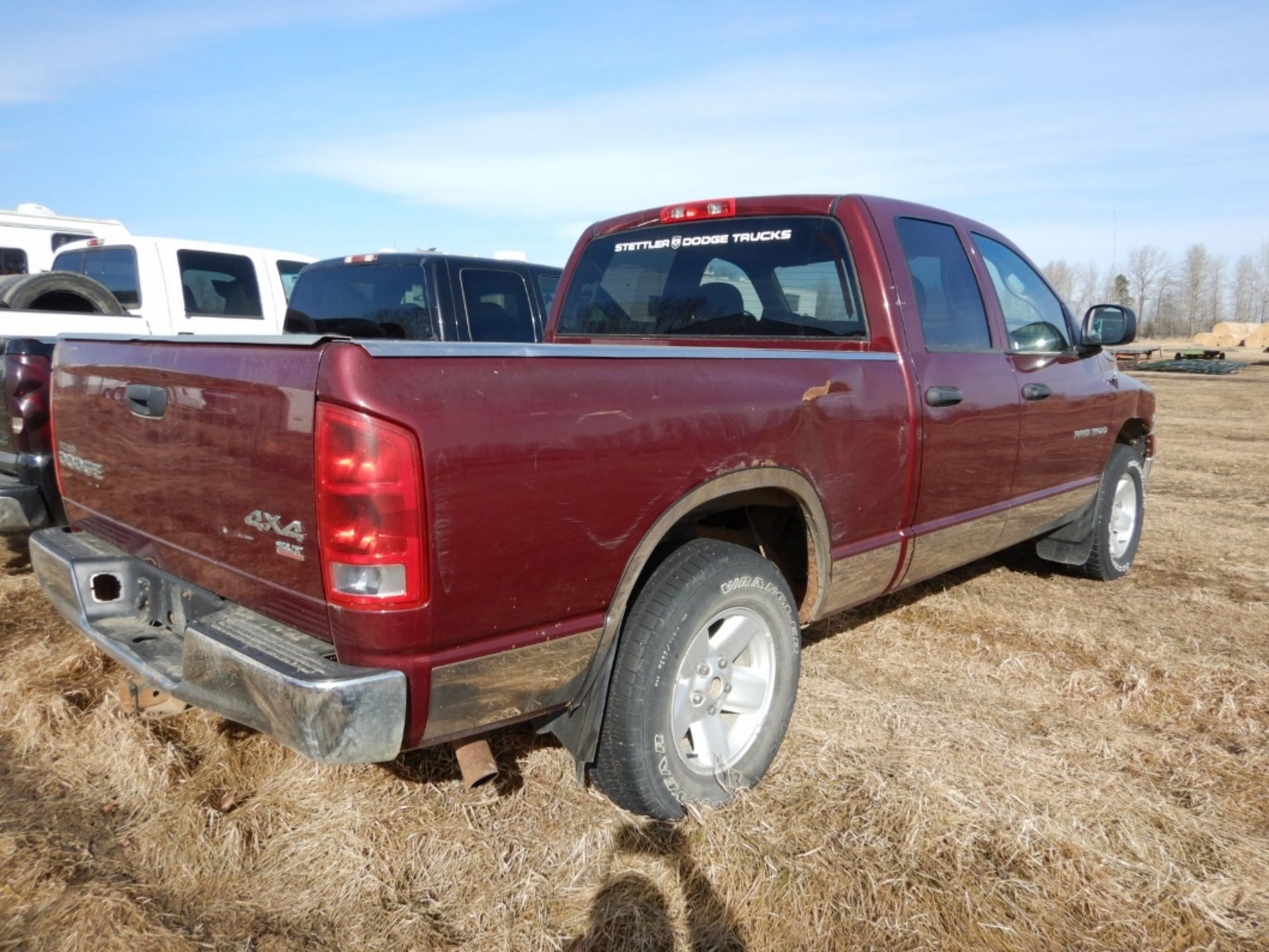 2003 DODGE RAM 1500 PICKUP, GAS, CREW CAB, SHORT BOX, AT, 248,000KM'S SHOWING, S/N - Image 2 of 11