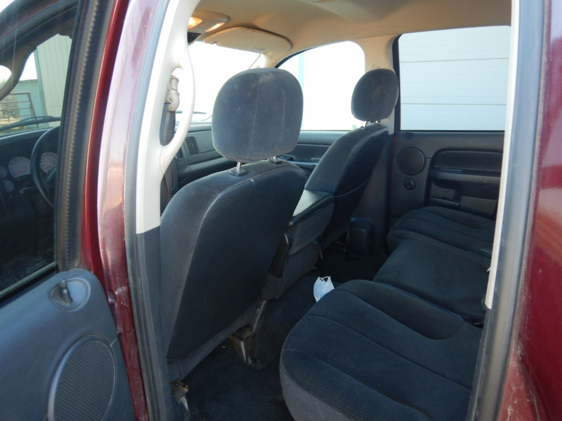 2003 DODGE RAM 1500 PICKUP, GAS, CREW CAB, SHORT BOX, AT, 248,000KM'S SHOWING, S/N - Image 9 of 11