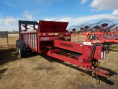 LEON 425RS SILVERSPREADER MANURE SPREADER W/ VERTICAL BEATER, HYD. PUSH, 425/65R22.5 RUBBER, S/N