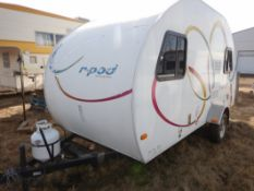 10/2008 FOREST RIVER R-POD S/A HOLIDAY TRAILER MODEL RP171 S/N 4X4TRP7151L004142 W/A/C, BATHROOM,