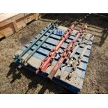 L/O 3-PAIR ASSORTED STOCK PANEL JOINER POSTS