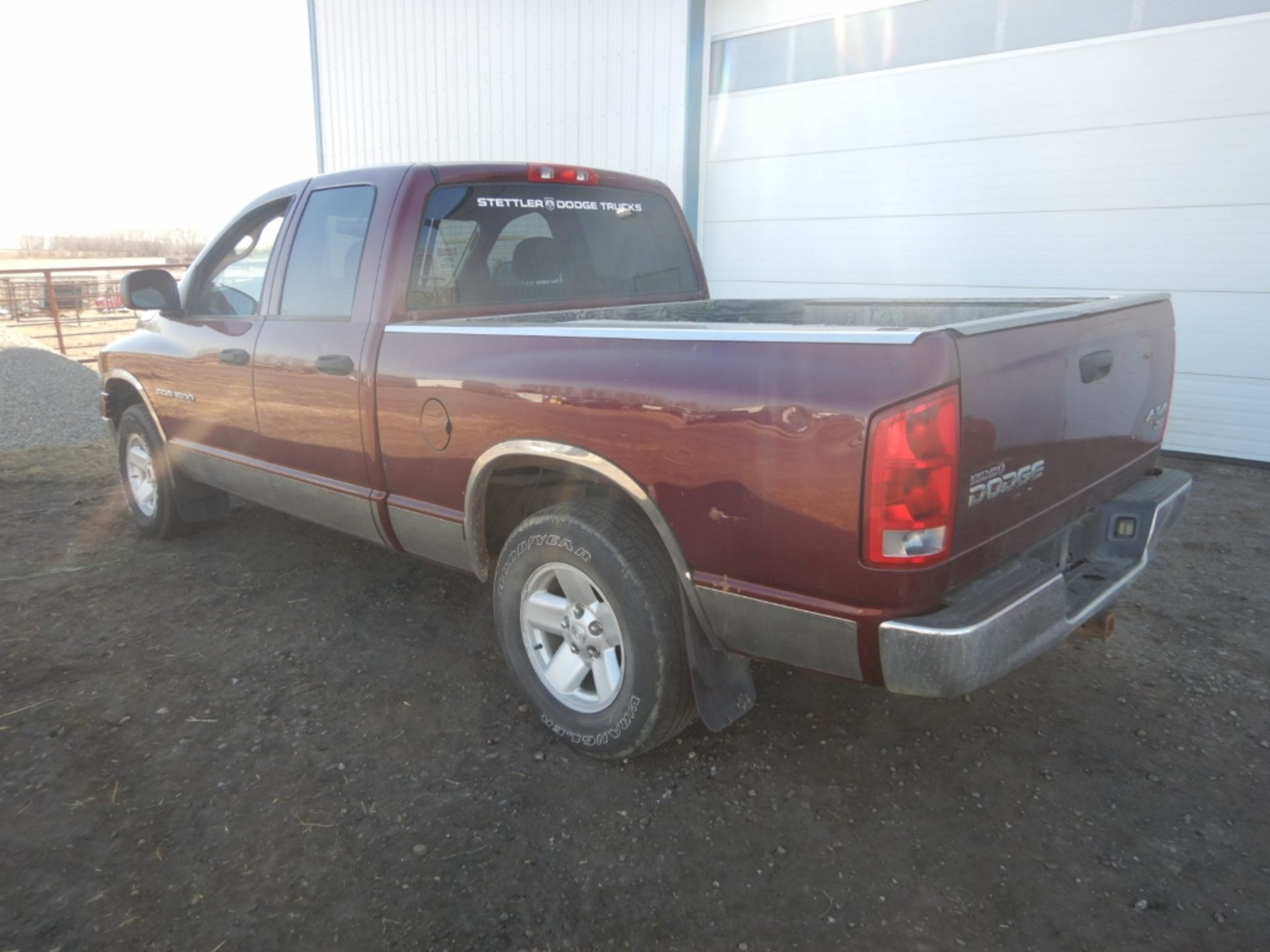 2003 DODGE RAM 1500 PICKUP, GAS, CREW CAB, SHORT BOX, AT, 248,000KM'S SHOWING, S/N - Image 7 of 11