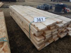 L/O ASSORTED LENGTH ROUGH SAWN LUMBER APPROXIMATLEY 7FT LONG