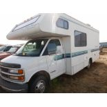 1998 GMC 3500 CLASS-C MOTORHOME W/FOUR WINDS FIVE THOUSAND CUT AWAY RV BODY S/1GBJG31J3W1101825