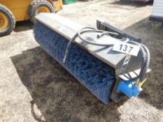 72IN STREET SWEEPER HYD. SKID STEER ATTACHMENT