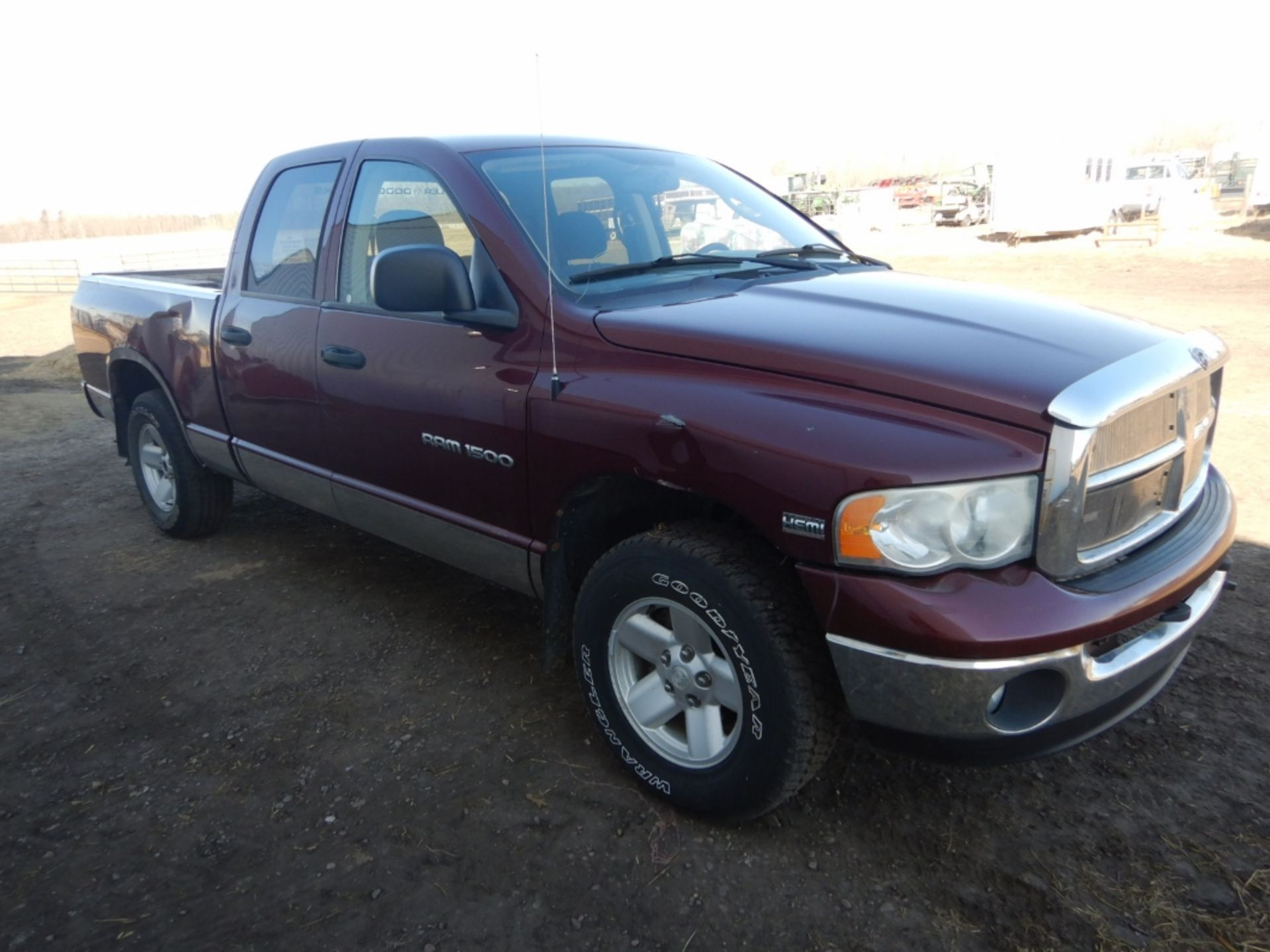 2003 DODGE RAM 1500 PICKUP, GAS, CREW CAB, SHORT BOX, AT, 248,000KM'S SHOWING, S/N - Image 5 of 11