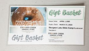 Gift Basket - $100 Gift Basket - Crooked Creek