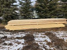 "Spruce - Rough Cut Lumber - 48 rough cut spruce 2""x8""x16"" planks. Approx 1000 board feet. Pickup"