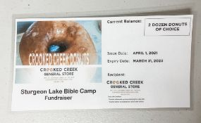 Donuts - 2 Dozen Donuts of your Choice - Crooked Creek