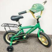 John Deere Bike - Kids John Deere Bike & Ball Cap (value $200) - Sigurd Johnson