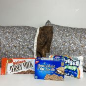 S'more Package - x2 standard pillow cases only (inserts not included), graham crackers, chocolate,