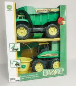 John Deere Kids Toys - Dump Truck and Excavator - Deere Line, High Prairie