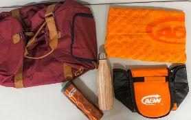 - Insulated Travel Mug, Tumbler, Beach Towel, Insulated Lunch Bag, Duffel Bag - A&W, High Prairie