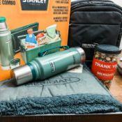 - Stanley Cooler & Bottle Combo, Blanket, Bag, Snacks - Meredian (Peter Dunn)