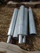 L/O 5-GALV. STEEL LIGHT POLE EXTENSION - 36 INCH