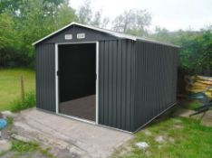 METAL SHED APEX 0810 - TMG-MS0810