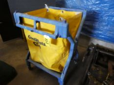 CONTINENTAL ROLLING SOILED GARMENT BAG ON WHEELED CART