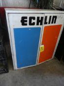 ECHLIN STEEL PARTS CABINET 32IN W X 36IN H X 13.5IN D W/ DOORS