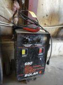 SOLAR 660 FLEET BATTERY CHARGER/BOOSTER MODEL NO. 6600