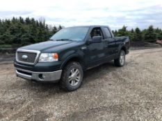 2006 FORD F150 LARIAT P/U TRUCK, 4X4, EXT CAB, LEATHER, 235,000KM SHOWING, S/N 1FTPX14556FA86613