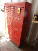 PROTO 22 DRAWER TOOL CABINET ON CASTORS - TOP AND BOTTOM CABINETS