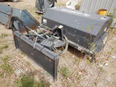 SWEEPSTER60IN BROOMFOR SKID STEER – USED ONE TIME, MODEL 2106MM-0022, S/N 0902002