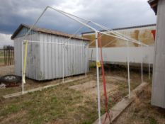 FABRIC TEMPORAY BUILDING - FRAME ONLY 10FT X 20FT
