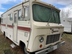 1974 EMPRESS 2590CLASS A MOTOR HOME– 25 FT – 54110 MILES SHOWING