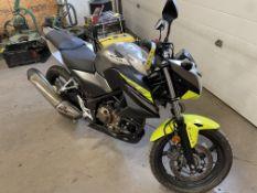 2017 HONDA CB300F MOTORCYCLE, 2,531KMS SHOWING, S/N MLHNC5264H5300065