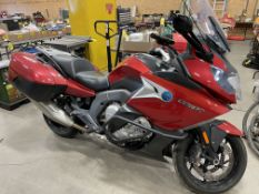 2017 BMW K1600GT MOTORCYCLE, W/ WINDSHIELD, SADDLE BAGS, 36,335KMS SHOWING