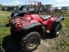 HONDA FOURTRAX ATV 4X4