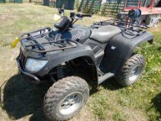 ARCTIC CAT 650 H 4X4 ATV S/N 4UF08ATV48T21510